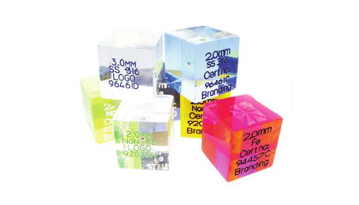 Acrylic Test Cubes
