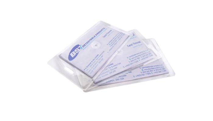 πλαστικοποιημένη κάρτα με τεστ ανίχνευσης