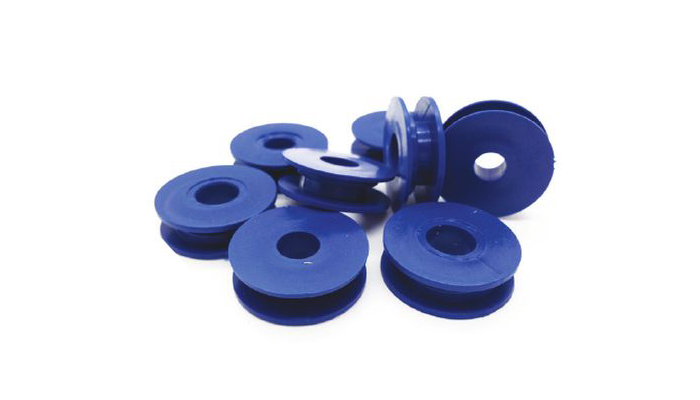 Single Round Retaining Clips