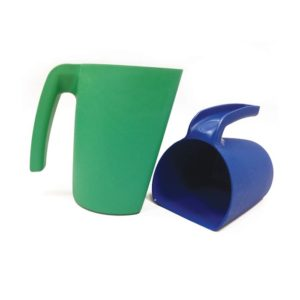 Detectable Stackable Scoop Jugs