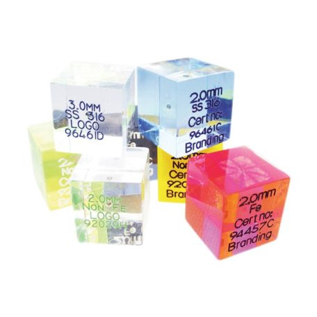 Detectable Acrylic Test Cubes