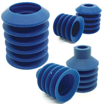 Detectable hard suction cups