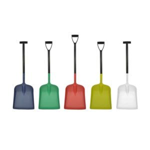 Detectable Large Blade Shovel with D-Grip & T-Grip