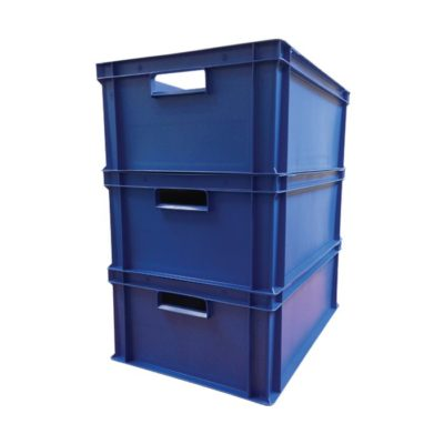 Detectable Stackable Storage Boxes