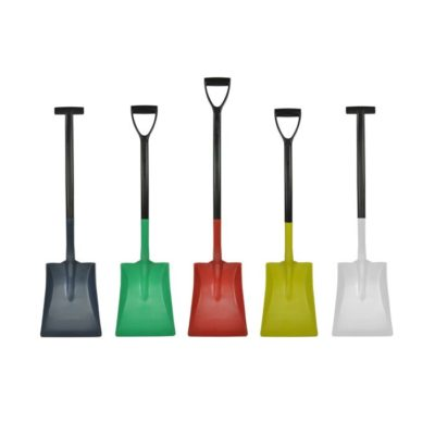 Detectable Standard Blade Shovel with T-Grip and D-Grip